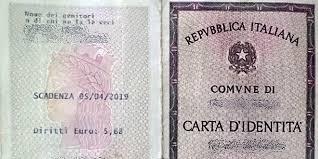Proroga scadenza carte d'identità cartacee ed elettroniche